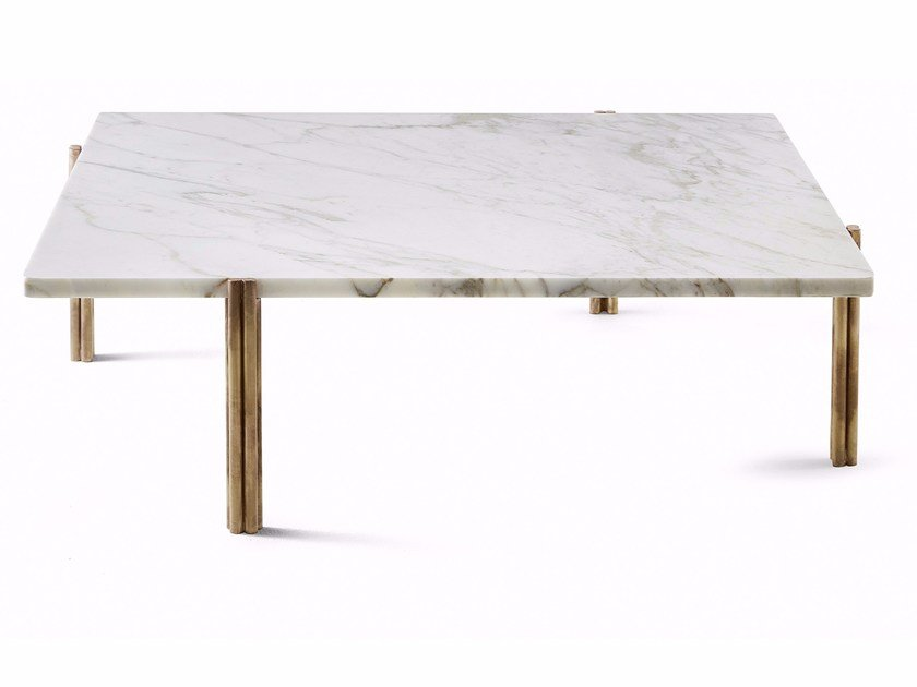 Square marble coffee table TWELVE | Square coffee table by Gallotti&Radice