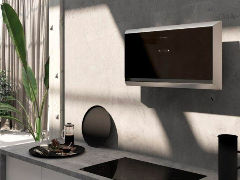Wall-mounted Glass and Stainless Steel cooker hood TWICE by FABER