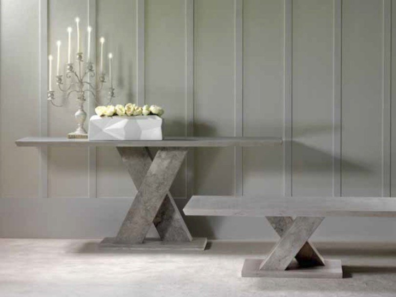 Rectangular marble console table TWID | Console table by International Marmi