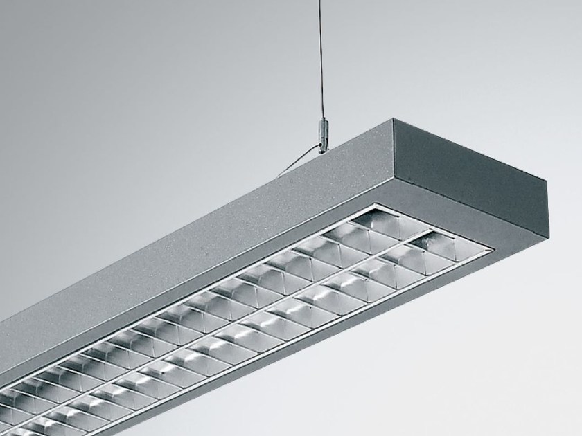 LED direct light pendant lamp with dimmer TWIN 2 9865 PAR90 D LED by Metalmek