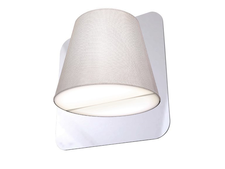 LED fabric wall lamp TWIN by bs.living