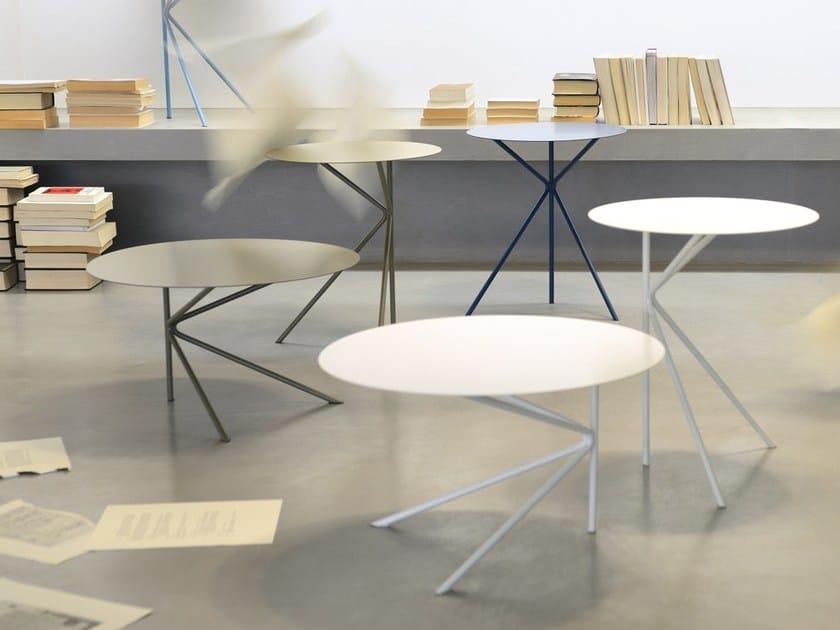 Tavolino Contract Memedesign Rotondo A Twin Per MUSzVqp