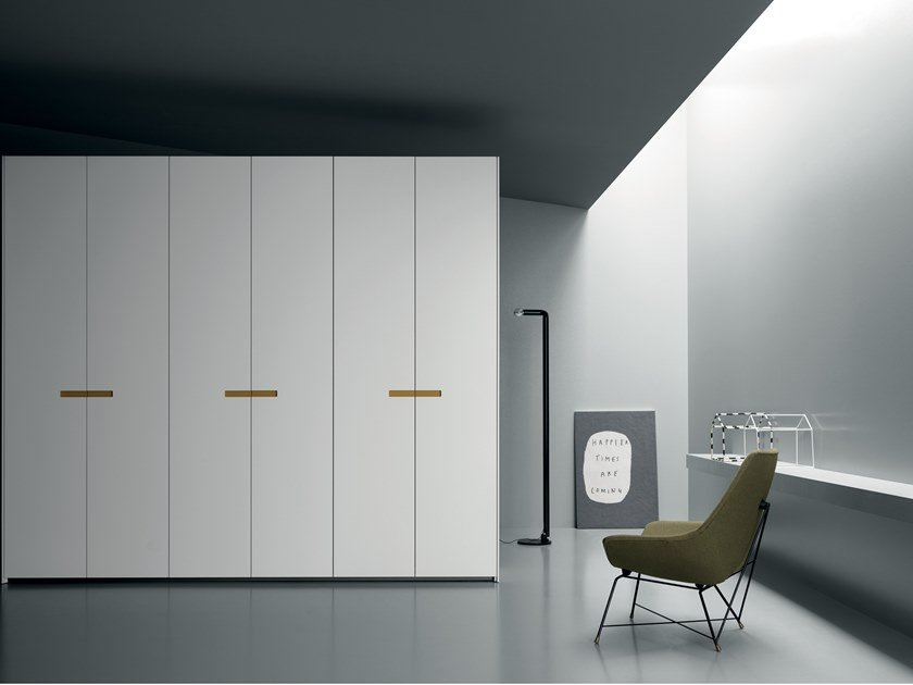 Built-in lacquered wardrobe TWIN by Md House