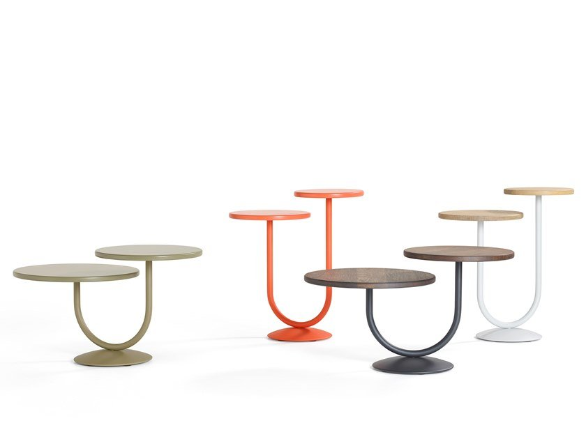 Round side table TWINS by Artifort