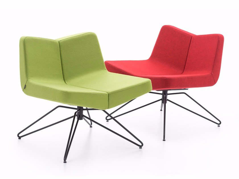 Two seater for waiting areas TWINS by ersa