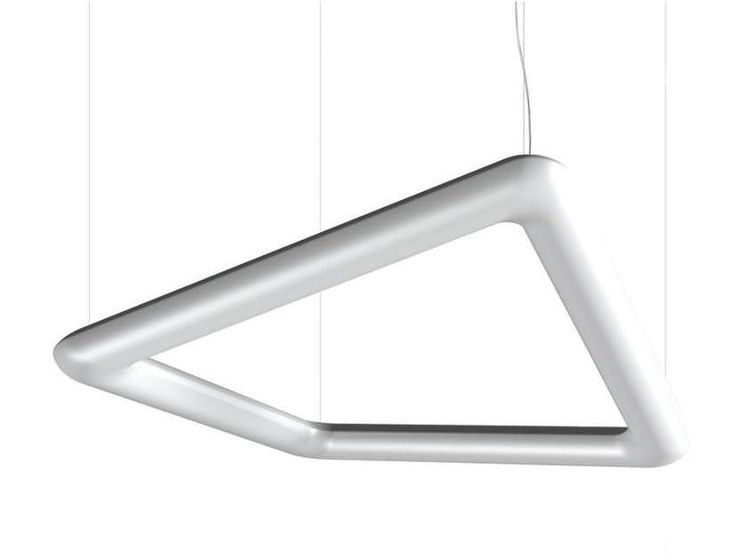 Polyethylene pendant lamp TWIST by Artemide
