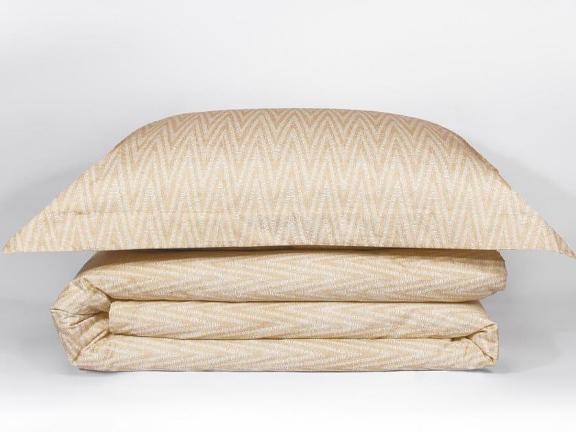 Cotton bedding set with graphic pattern TWIST | Bedding set by Decoflux