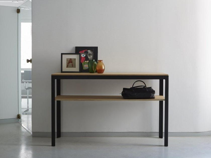Rectangular steel console table TYPE | Console table by iCarraro