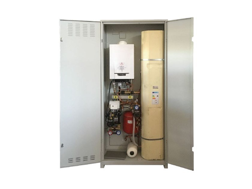 Outdoor boiler TZERRA SUN 150 by REVIS