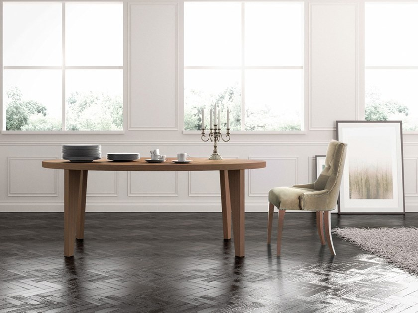 Walnut living room table Table by Scandal