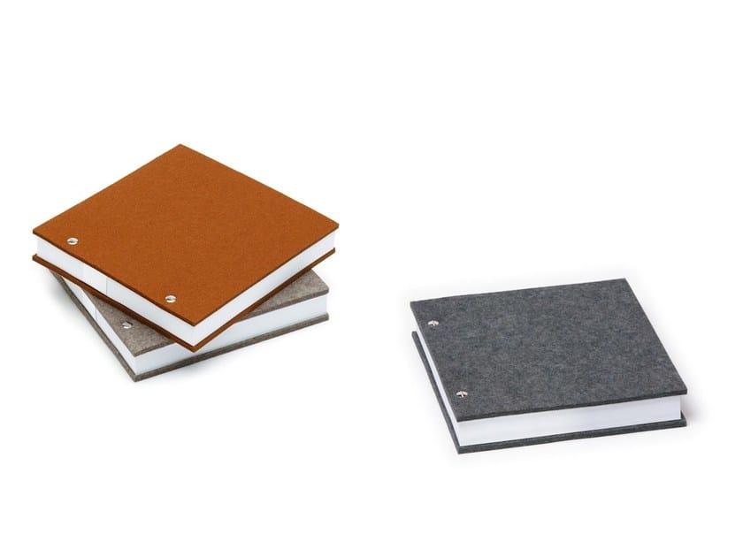 Felt notebook Notebook by HEY-SIGN