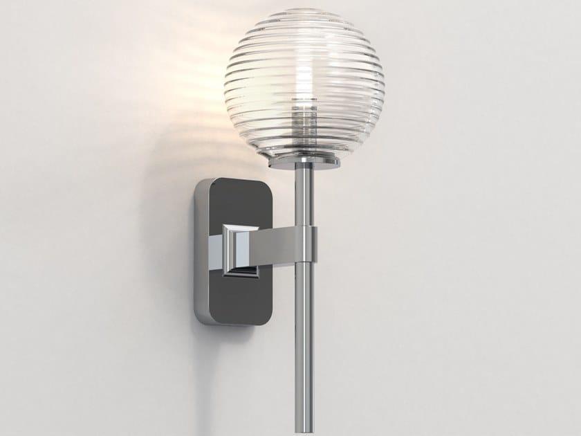 Lampada da parete a LED in zinco per bagno TACOMA SINGLE by Astro Lighting