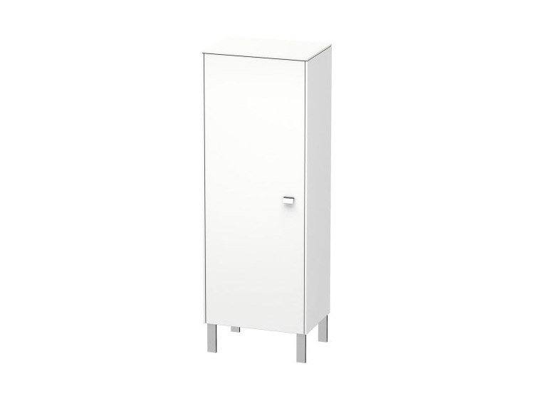 Tall single bathroom cabinet with doors BRIOSO   Tall bathroom cabinet by Duravit