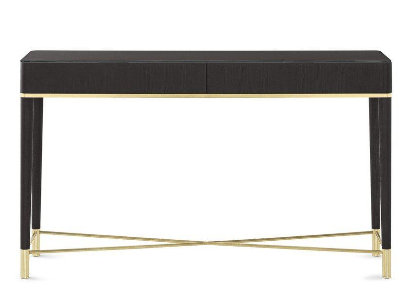 Rectangular wooden console table with drawers TAMA CONSOLE by Gallotti&Radice
