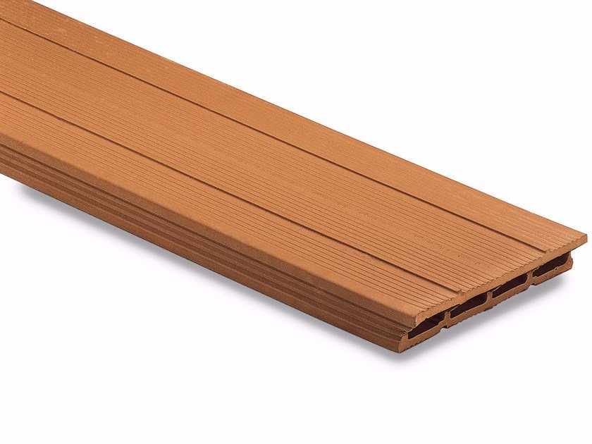 Clay plank and hollow clay plank Clay plank Varese cut by Wienerberger