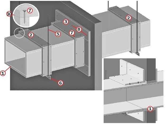 Condotte di ventilazione Tecbor DBDA/VEHO 30 by LINK industries