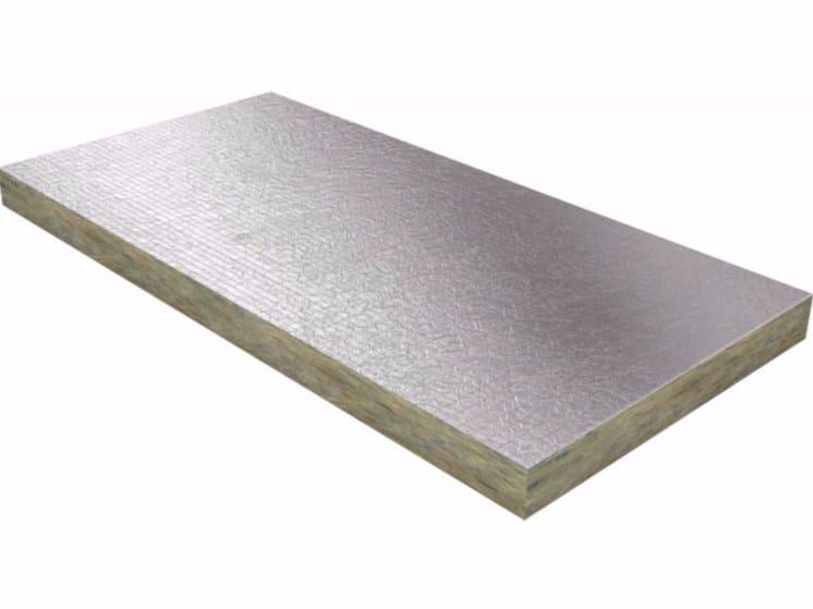 Pannello termoisolante in fibra minerale e carta kraft Termolan® Green 35 KAP XL by TERMOLAN
