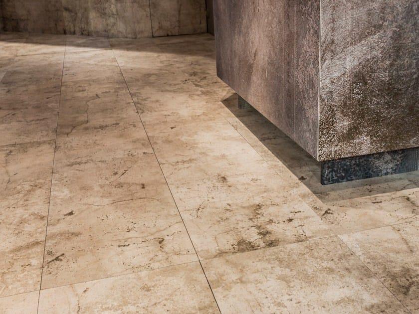 Pavimento rivestimento in gres porcellanato effetto cemento