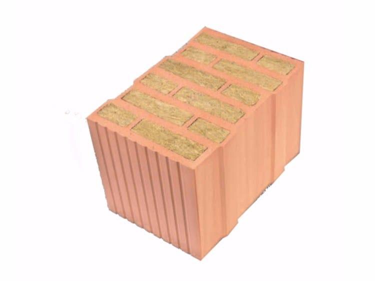Thermal insulating clay block ThermoPlan® MZ70 by Ziegelwerk Klosterbeuren