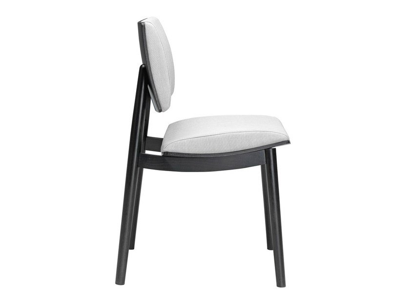 Upholstered reception chair To-Kyo 540 by Metalmobil