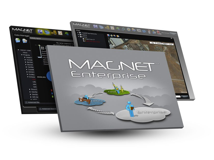 BIM authoring Topcon MAGNET Enterprise by Topcon