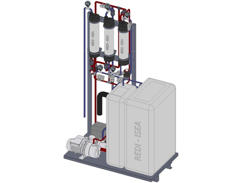 Treatment and purification equipment Treatment and purification equipment by Redi
