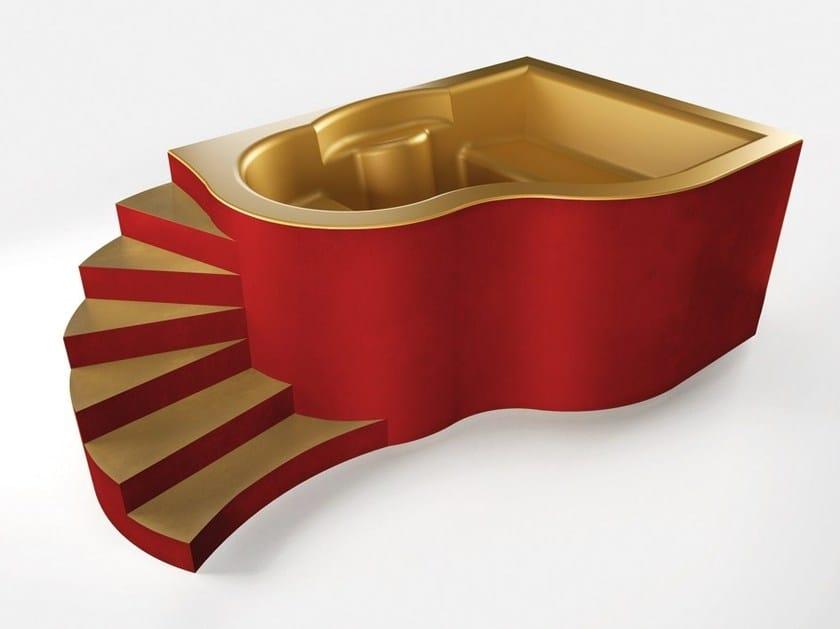 Seated EPS bathtub Tubs of any size and shape by La Veneta Forme