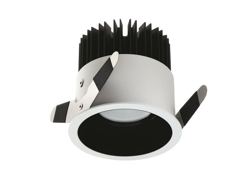 LED round recessed aluminium spotlight Turis 3.3 by L&L Luce&Light