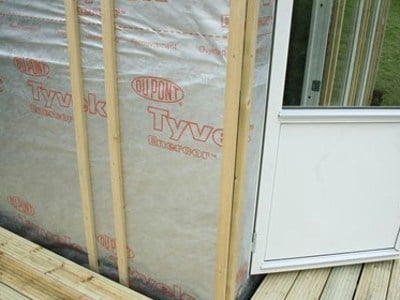 Prefabricated polymer membrane Tyvek® Enercor  e Airguard® Reflective by DuPont Protection Solutions