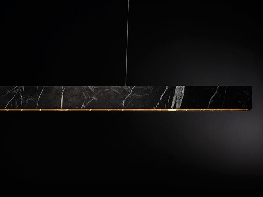 LED pendant lamp U STONE by ZUMI