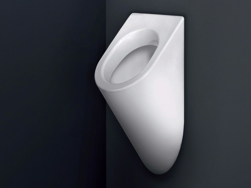 Suspended ceramic Urinal U URINAL by Nic Design