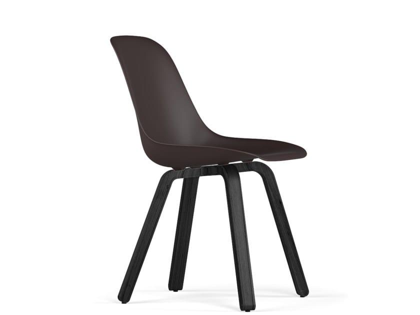 Polypropylene chair U V9 | Chair by KUBIKOFF