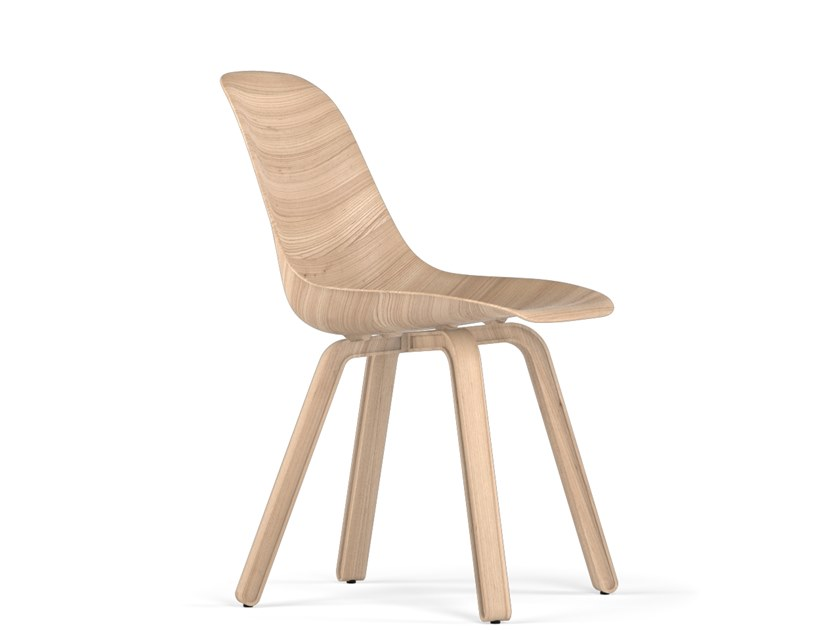 Wooden chair U W9 by KUBIKOFF