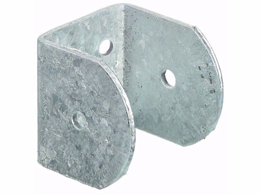 Galvanized steel Hardware for timber structures U-shaped wall support by Unifix SWG