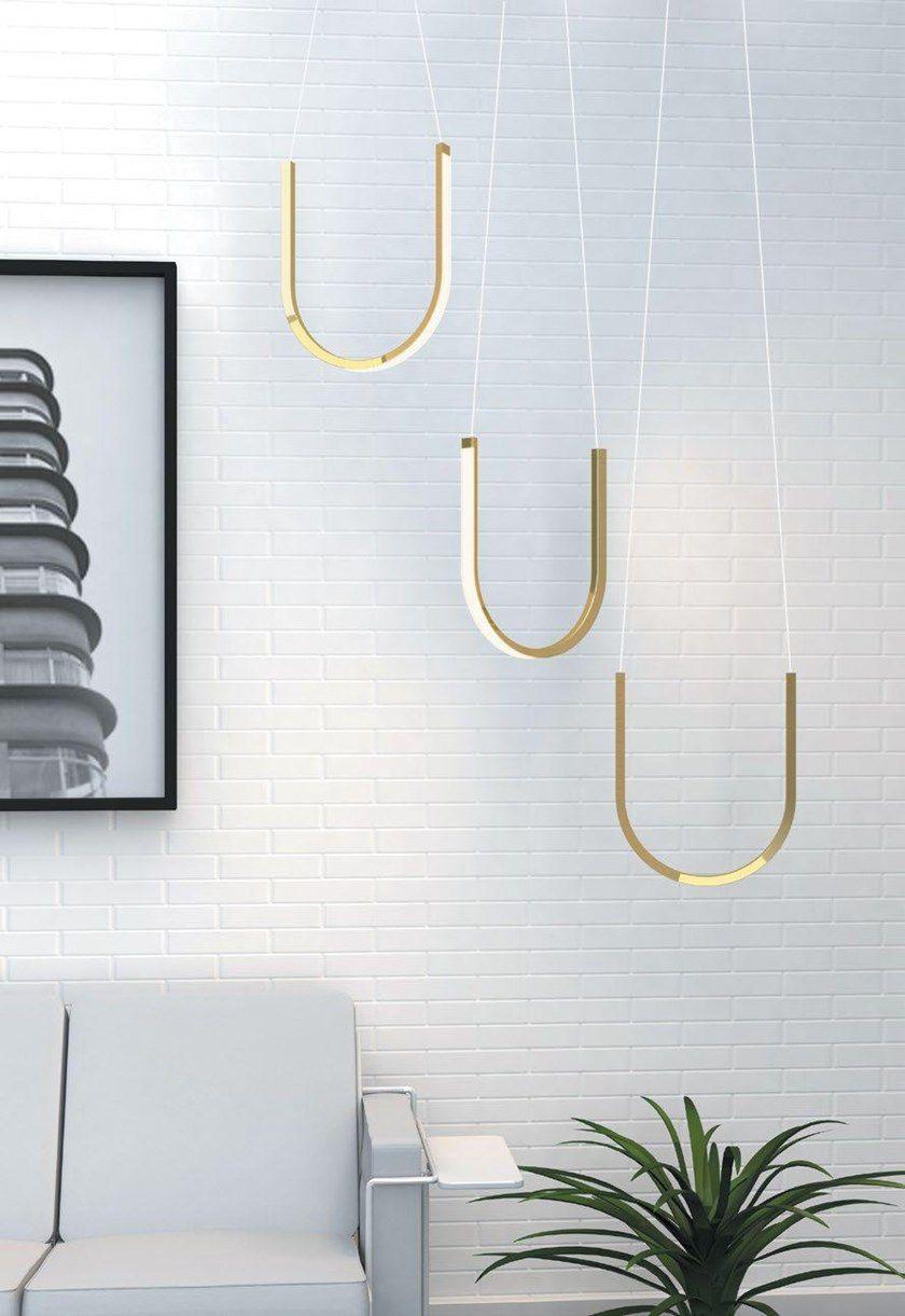 led aluminium pendant lamp u1 by arpel lighting design sylvain willenz