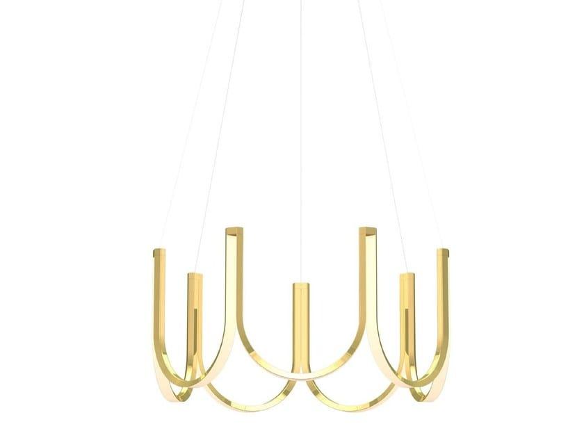 LED aluminium pendant lamp U7 by ARPEL Lighting