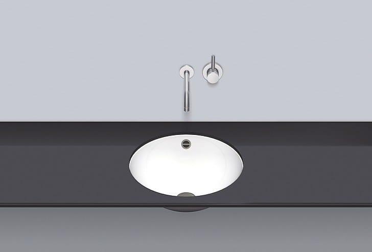 Undermount basin from glazed steel UB.K450 by Alape