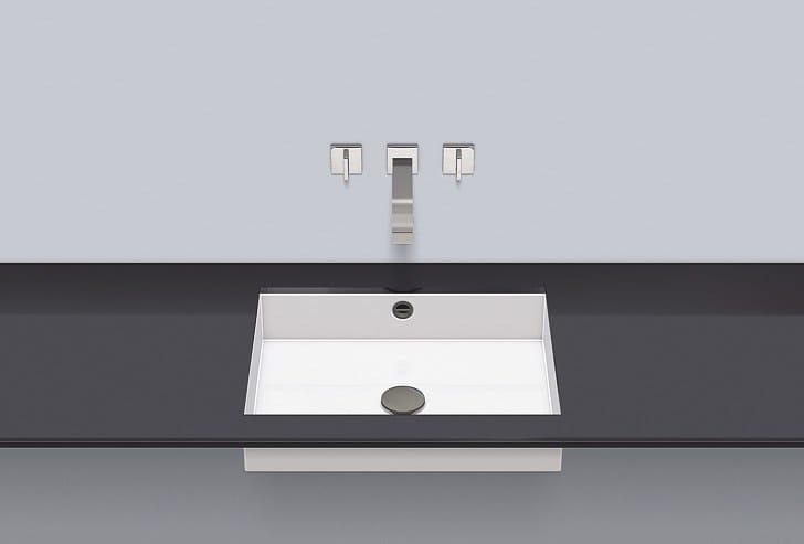 Undermount basin from glazed steel UB.ME500 by Alape