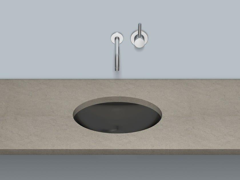 Undermount basin from glazed steel UB.O525 by Alape