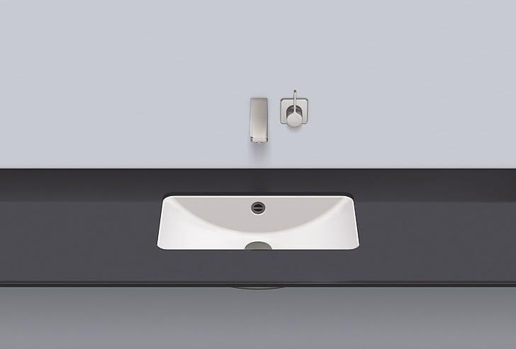 Undermount basin from glazed steel UB.R585 by Alape