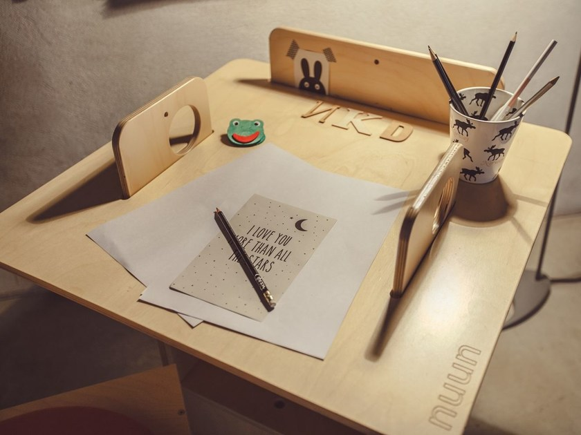 Ubdesign Nuun Kids Design Scrivania In Betulla mn0N8w