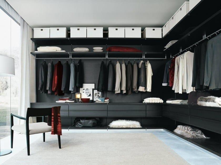 Sectional walk-in wardrobe UBIK By poliform