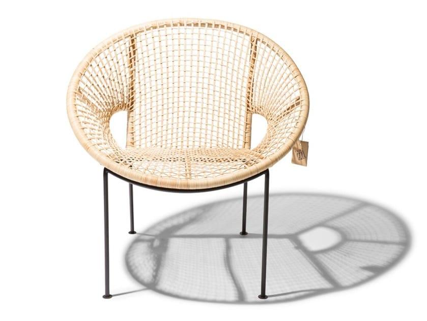 Garden rattan easy chair UBUD by Fair Furniture