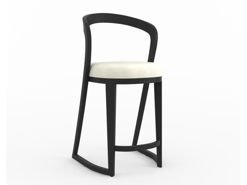High stackable stool with integrated cushion UDI | Stool by ArianeSké