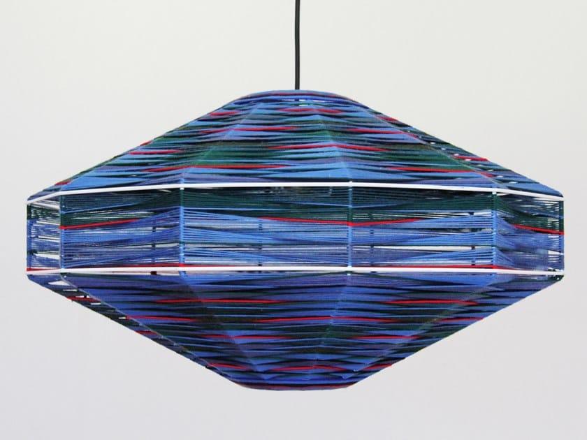 Handmade cotton pendant lamp UFO by Thea Kuta