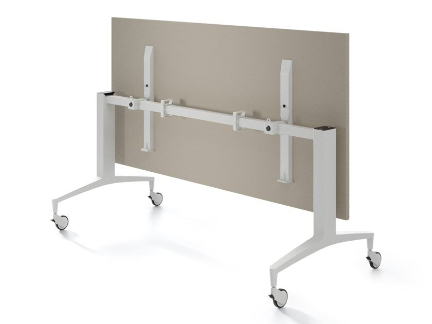 Office desk with flip-top ULISSES by IBEBI