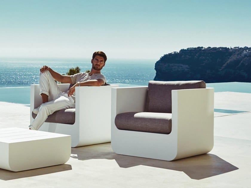 Armchair with armrests ULM | Armchair by VONDOM
