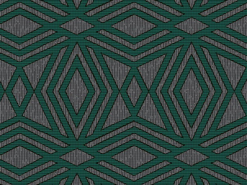 Geometric non-woven paper wallpaper ULM by Isidore Leroy