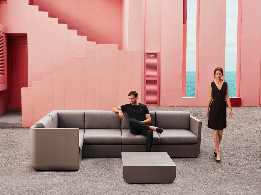 ULM | Sectional garden sofa Ulm Collection By VONDOM design Ramón Esteve