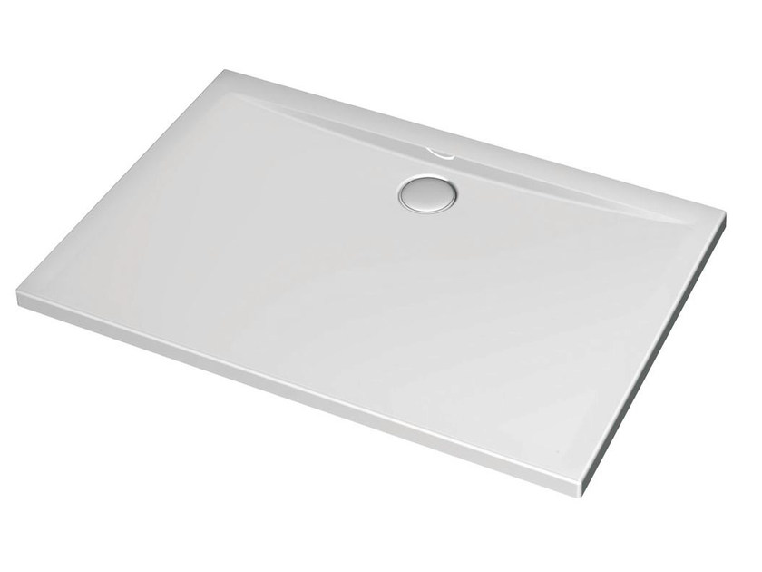Rectangular acrylic shower tray ULTRA FLAT 120 x 100 cm - K5184 by Ideal Standard